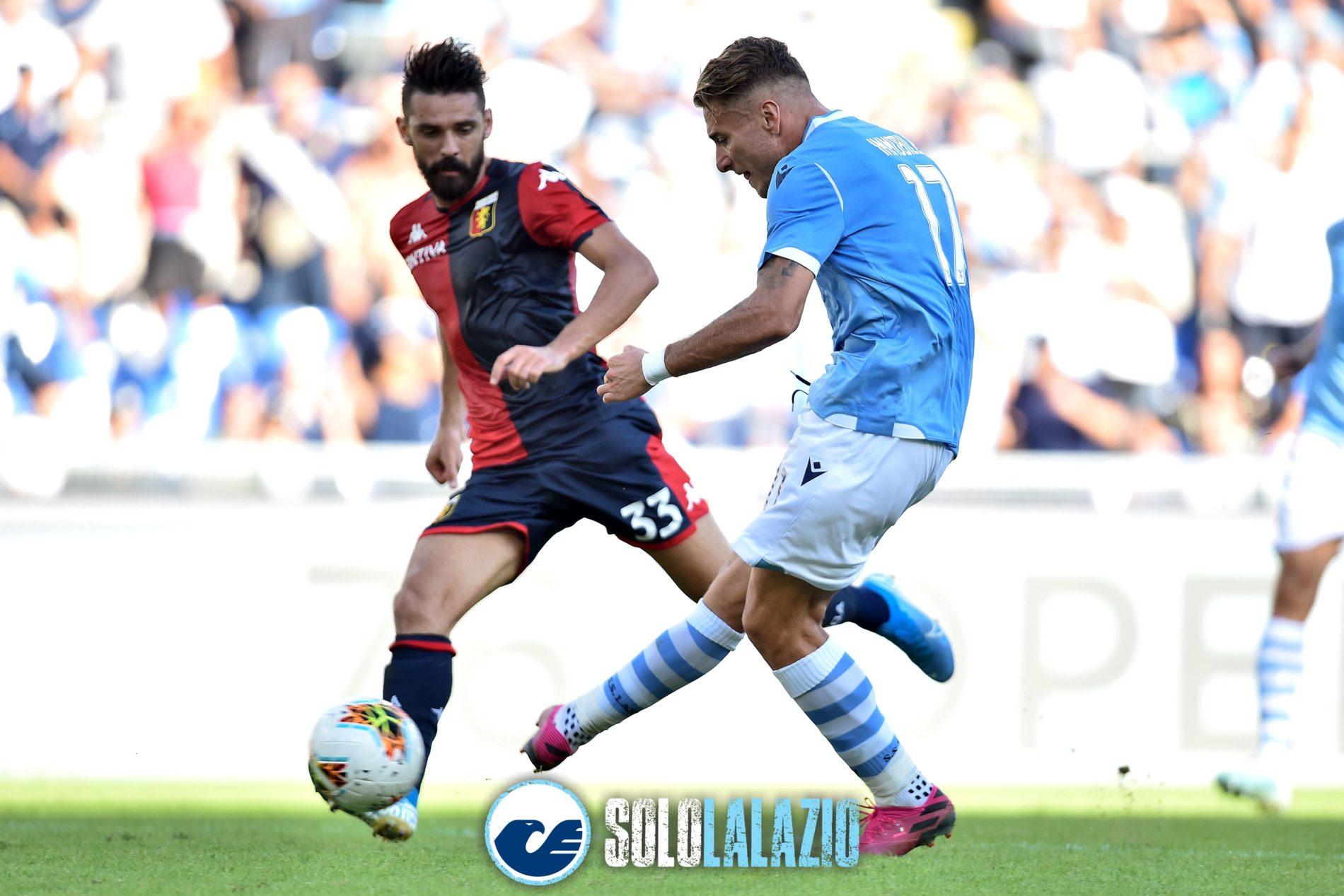 Lazio - Genoa, Ciro Immobile