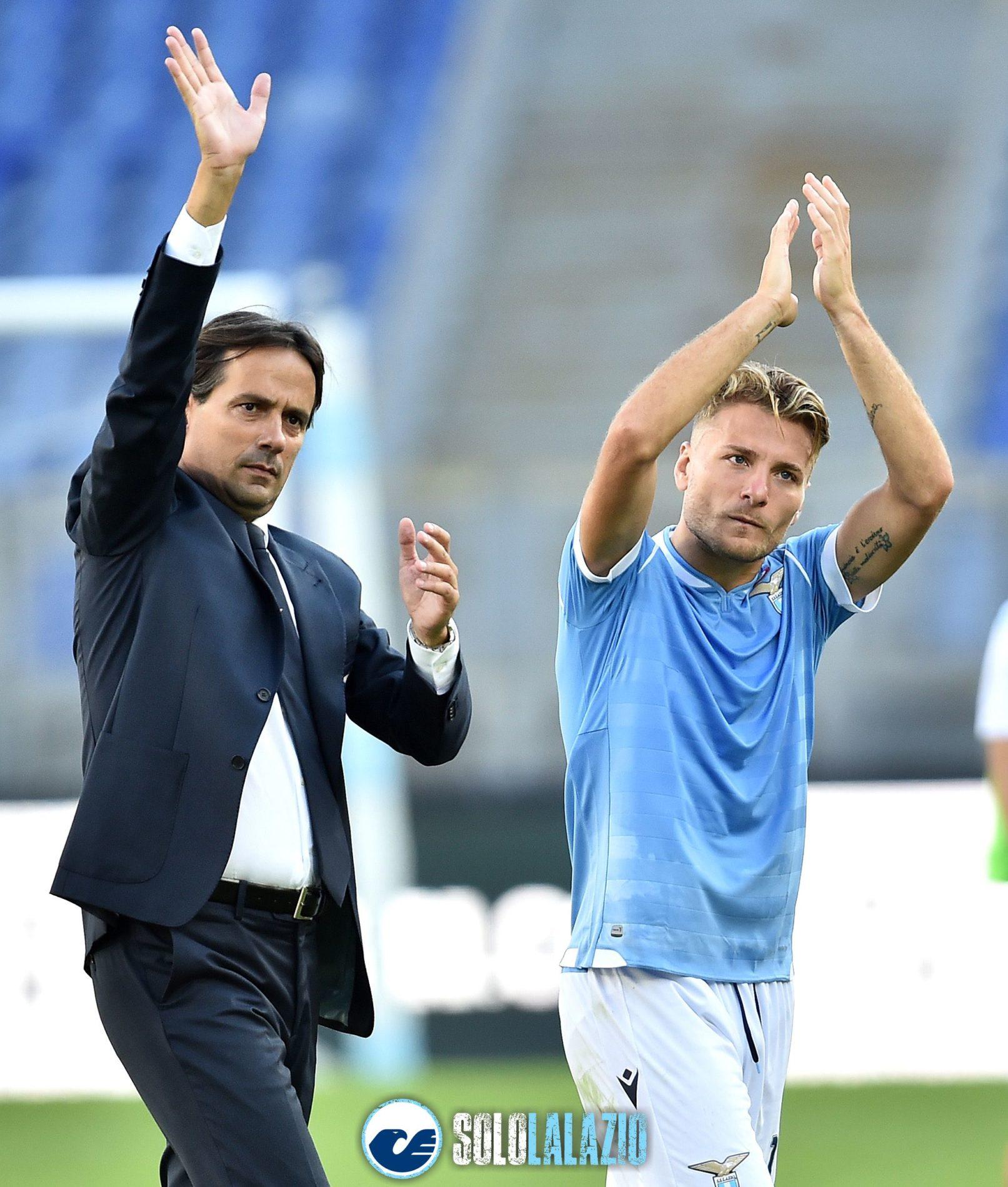 Lazio - Genoa, Simone Inzaghi e Ciro Immobile
