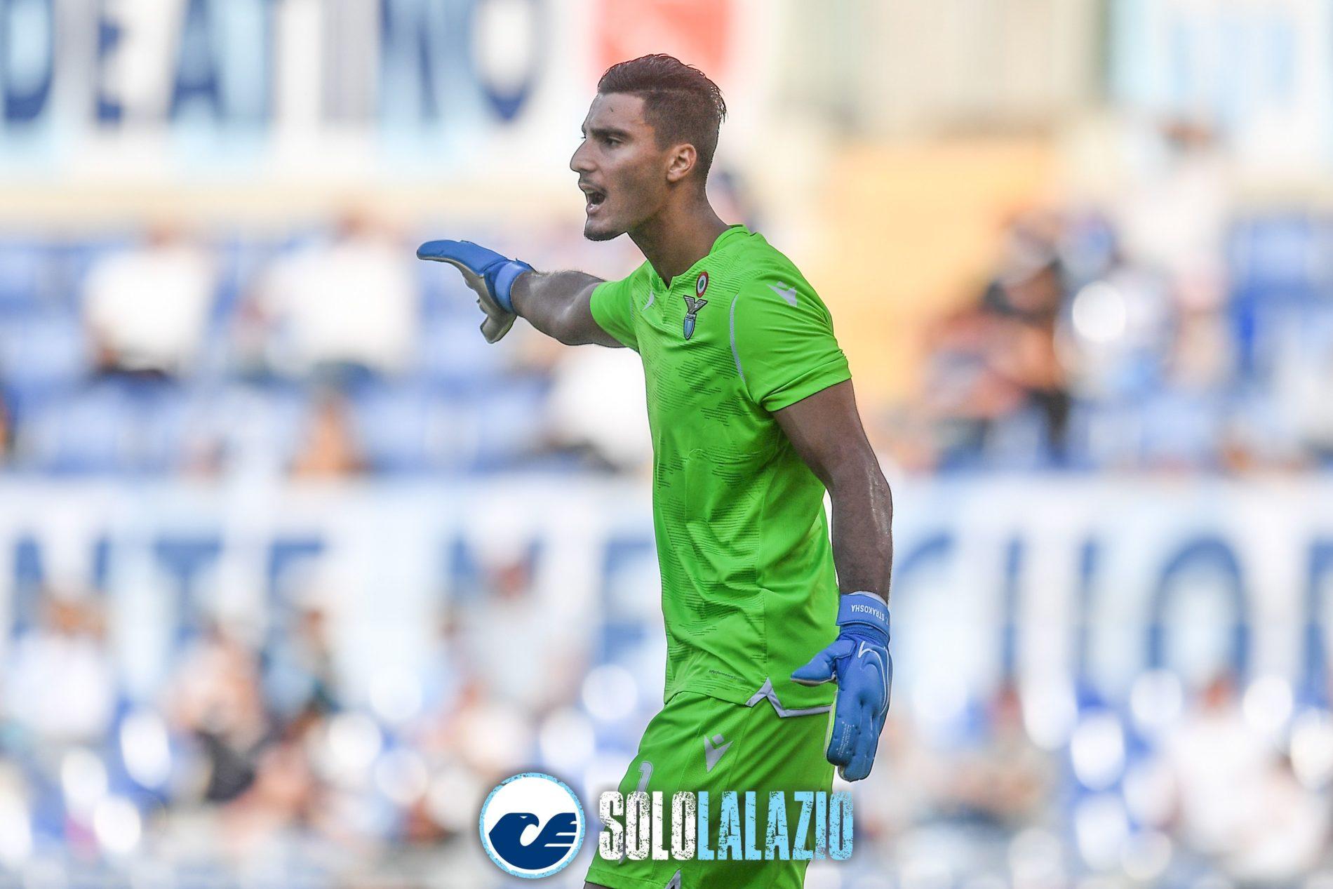Lazio - Genoa, Thomas Strakosha