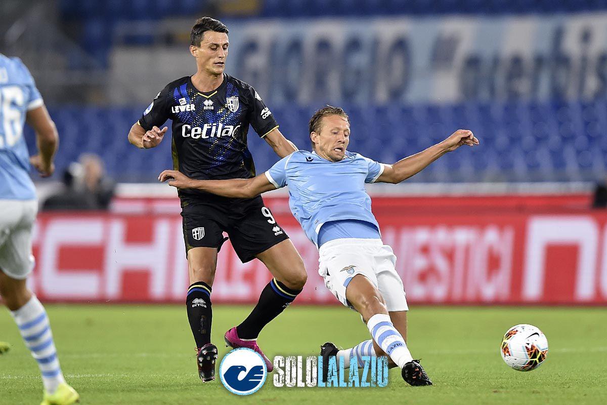 Lazio - Parma, Lucas Leiva e Roberto Inglese