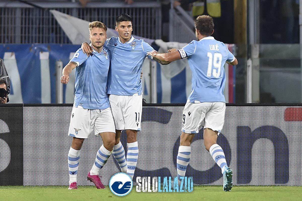 Lazio - Parma, Immobile, Correa e Lulic