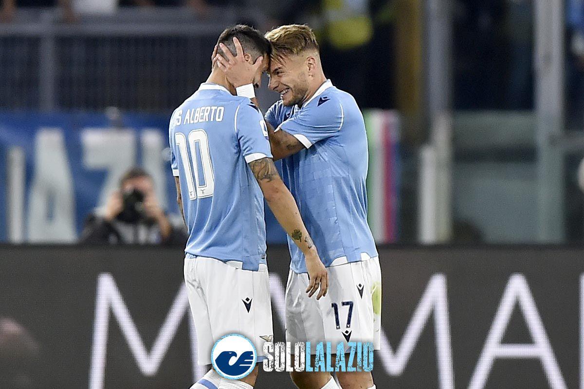 Lazio - Parma, Ciro Immobile e Luis Alberto