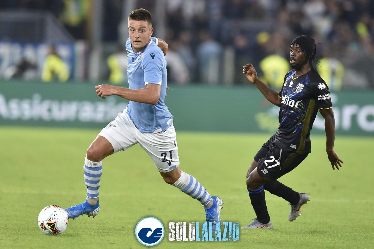 Lazio - Parma, Sergej Milinkovic