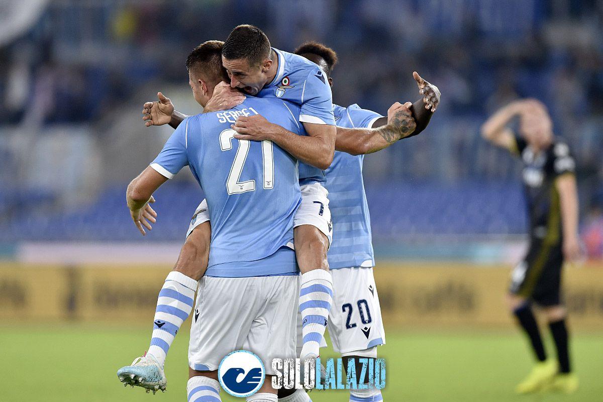 Lazio - Parma, gol Marusic