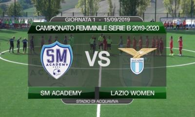 Lazio Women, il video integrale della prima partita di Serie B
