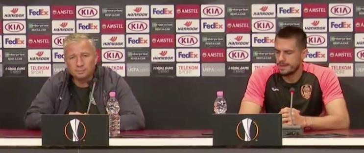 Cluj - Lazio, Dan Petrescu e Andrei Burca