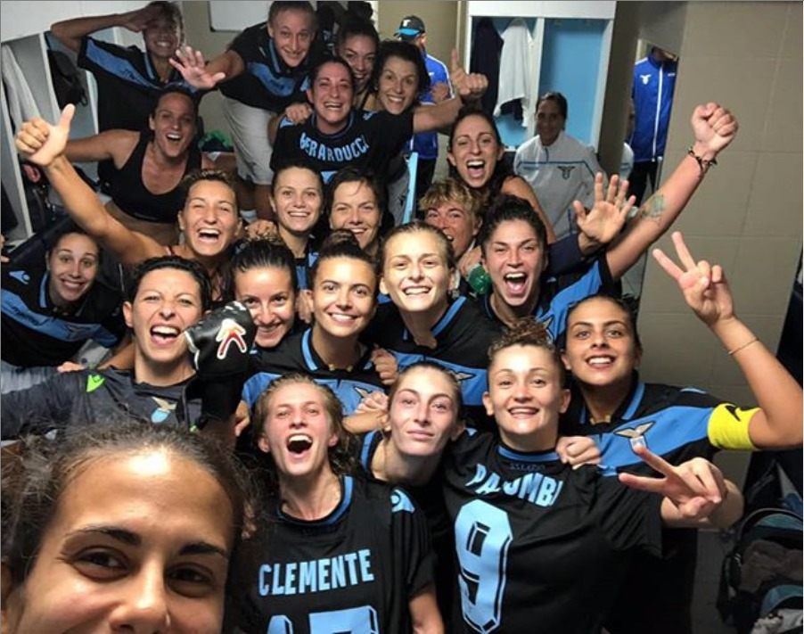 La Lazio Women trionfa in casa contro la capolista: -2 dalla vetta