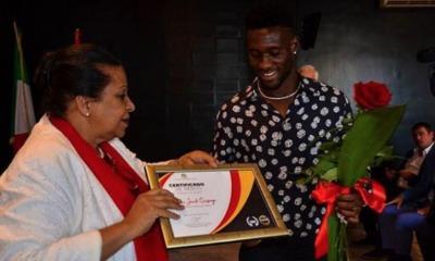 Lazio, Bastos premio ambasciata Angola