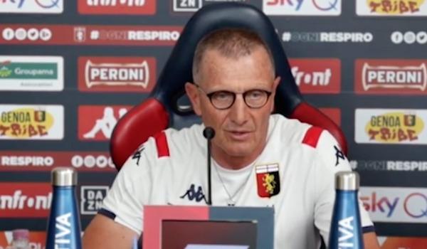 Lazio - Genoa, Aurelio Andreazzoli