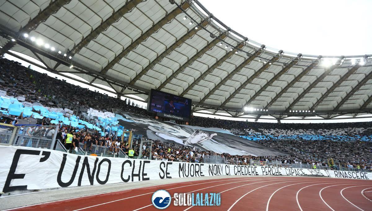 Lazio - Roma, scenografia Diabolik