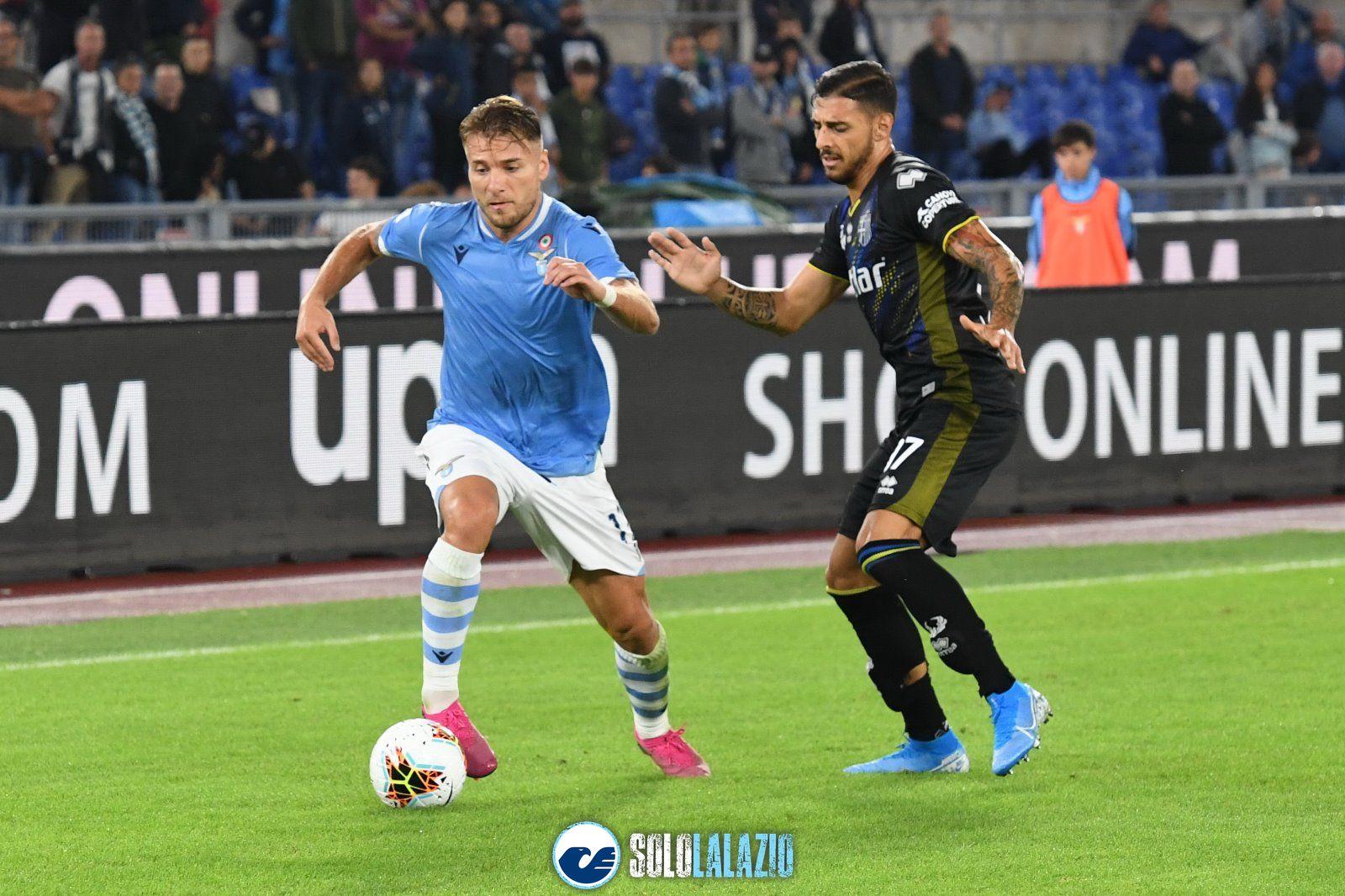 Lazio - Parma, Ciro Immobile e Giuseppe Pezzella