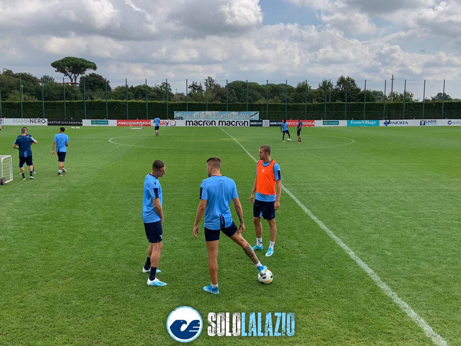 Archiviata la sconfitta, la Lazio torna subito a Formello