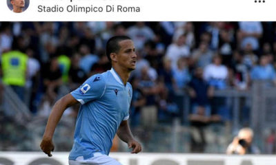 Lazio, Luiz Felipe contento dopo la partita con il Genoa (Instagram @luizfeliperamos27)