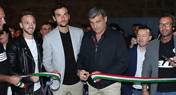 Lazio, l'inaugurazione del Fan Club di Blera (Facebook @LazioFanClubBlera)