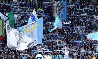 Lazio - Rennes, Curva Nord