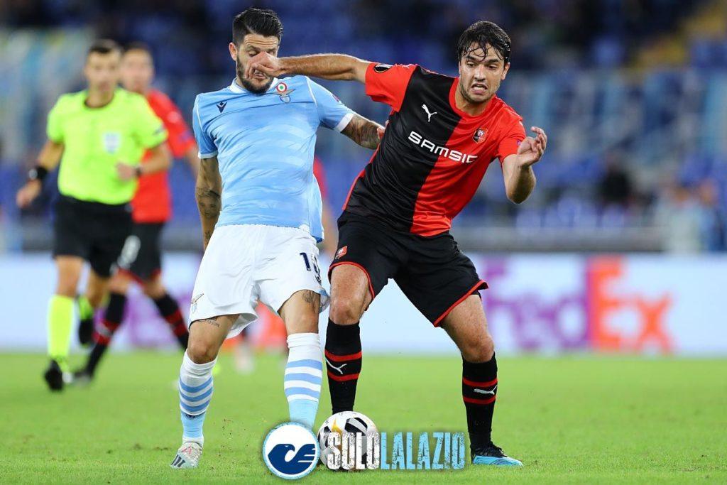 Lazio - Rennes, Luis Alberto