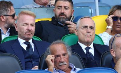 Lazio - Atalanta, Igli Tare e Claudio Lotito