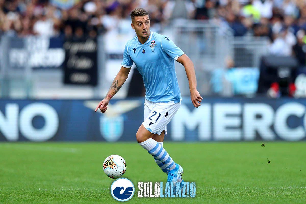 Lazio - Atalanta, Sergej Milinkovic