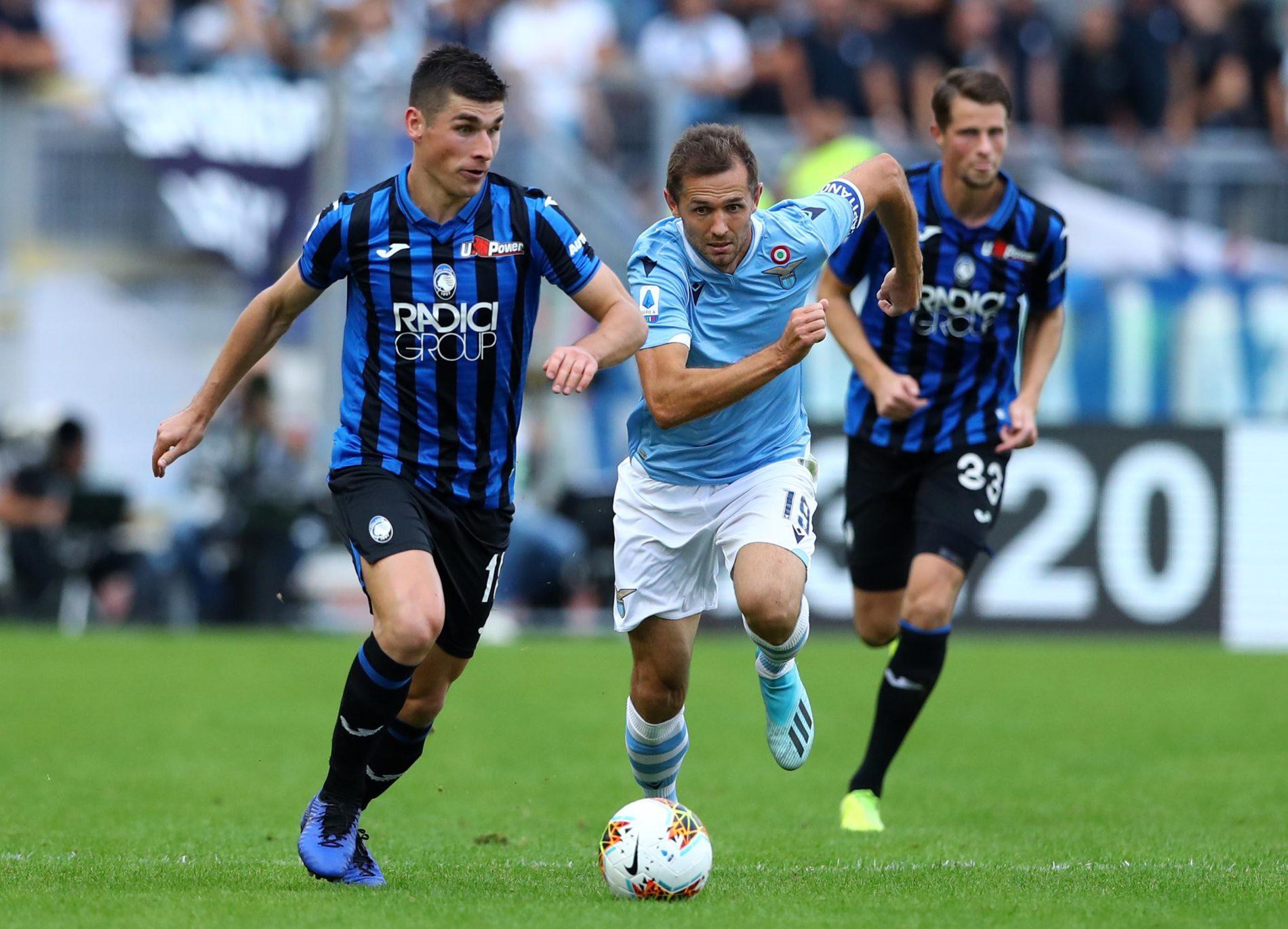 Lazio - Atalanta, Senad Lulic e Ruslan Malinovskyi