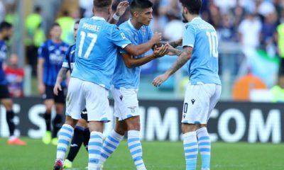 Lazio - Atalanta, Joaquin Correa, Ciro Immobile e Luis Alberto