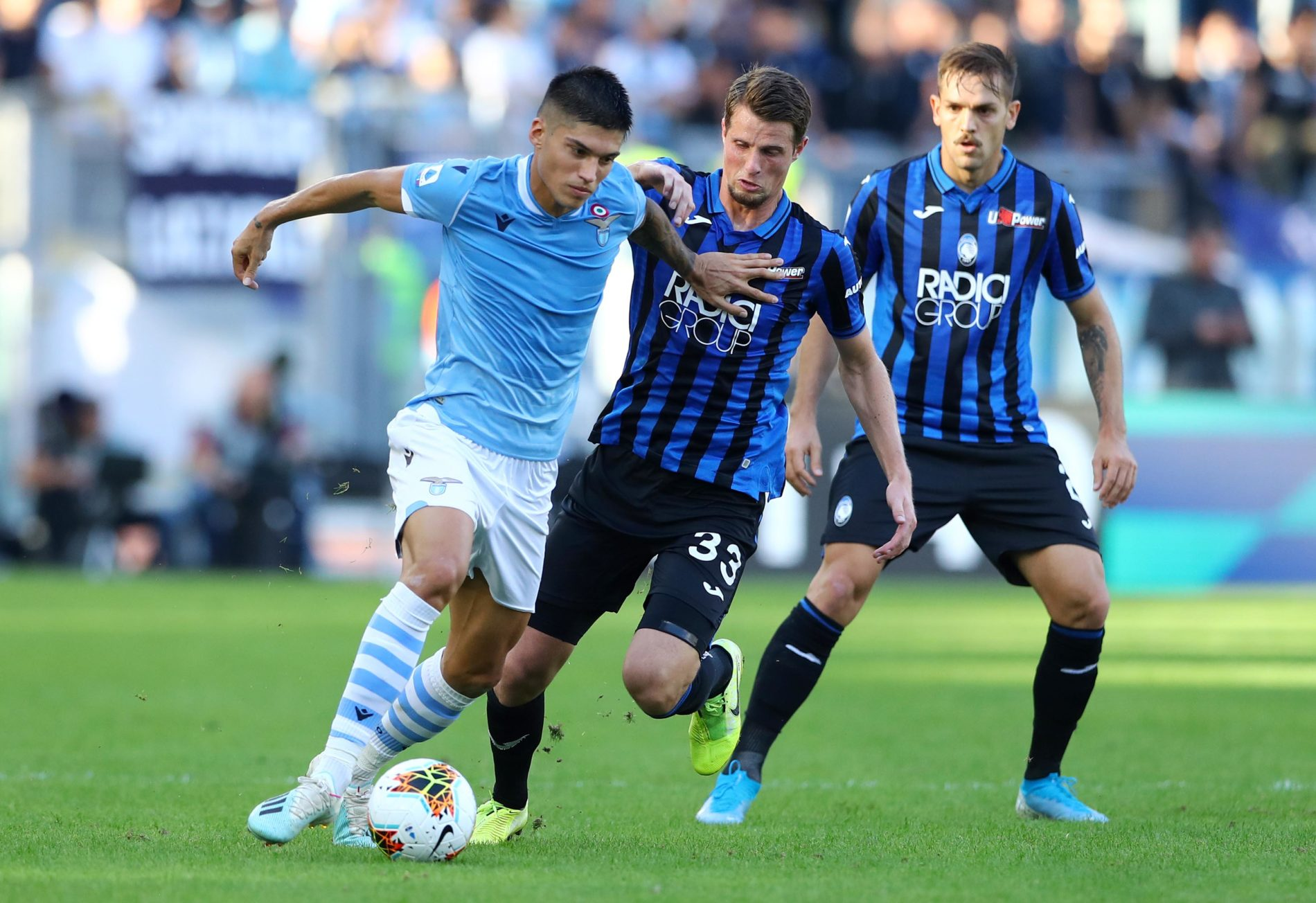 Lazio - Atalanta, Joaquin Correa e Hans Hateboer