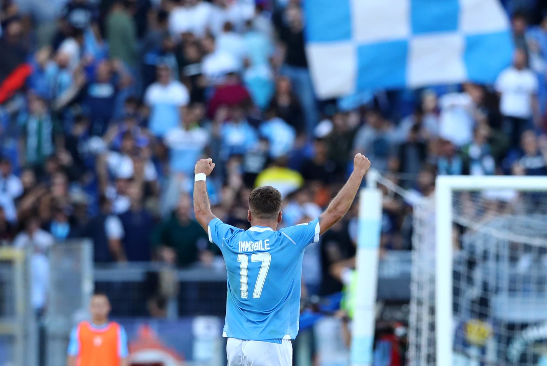 Immobile sul podio dei goleador nella Top 5 dei campionati europei