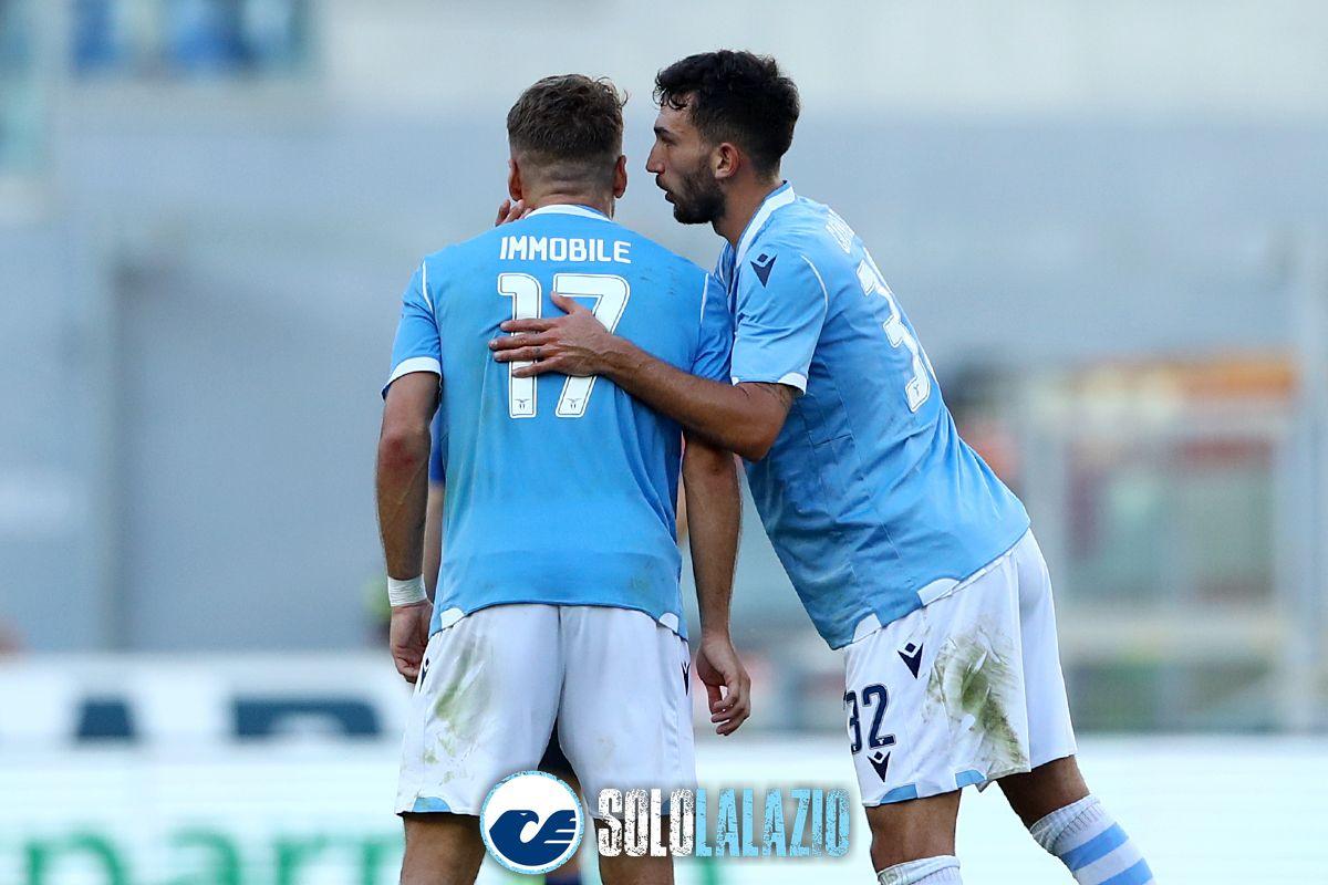 Lazio - Atalanta, Ciro Immobile e Danilo Cataldi