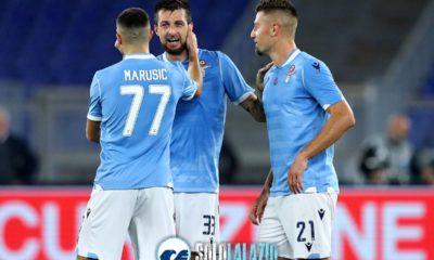 Lazio - Torino, Francesco Acerbi, Adam Marusic e Sergej Milinkovic