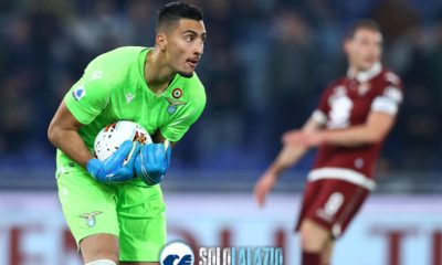 Lazio - Torino, Thomas Strakosha
