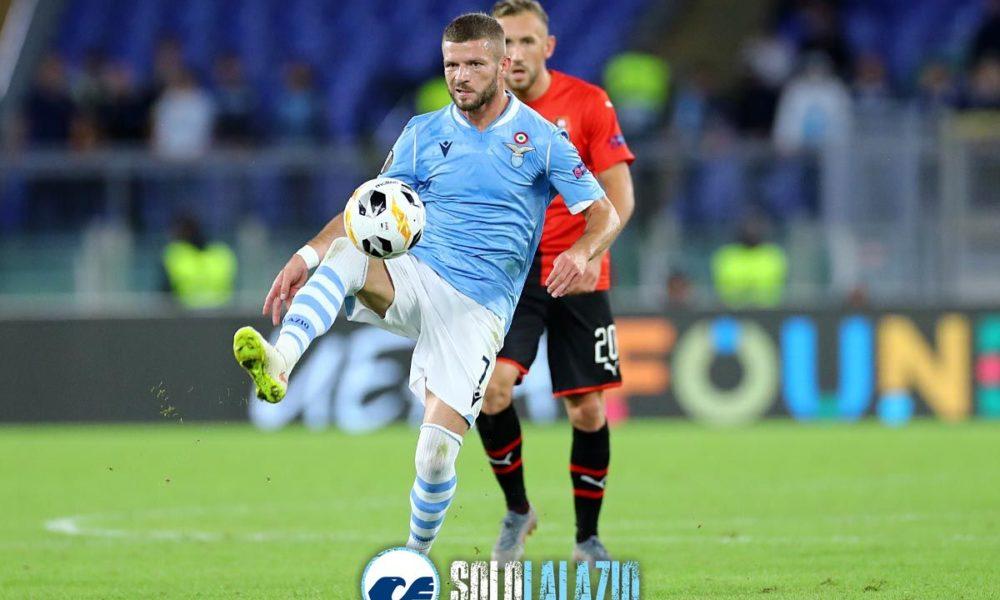 Lazio - Rennes, Valon Berisha