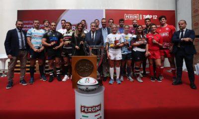 Lazio Rugby, presentazione Peroni Top12