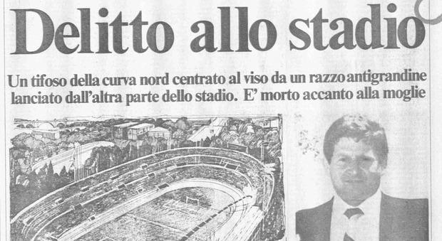 La dedica a Paparelli a quasi 40 anni dalla sua scomparsa