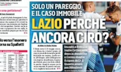 Rassegna stampa, Corriere dello Sport-Roma 7 ottobre 2019 - 2