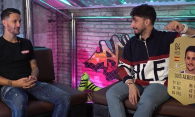 Luis Alberto intervistato da EA Sports Fifa España