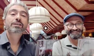A pranzo con il Poeta e il Direttore: rivivi la diretta di #amentesemifredda