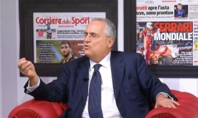"""Lotito per il Tg2 Italia: """"Orgoglioso di essere il presidente della Lazio"""""""