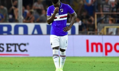 Serie A, buu in Sampdoria-Roma contro Vieira (Instagram @ronyvieira8)