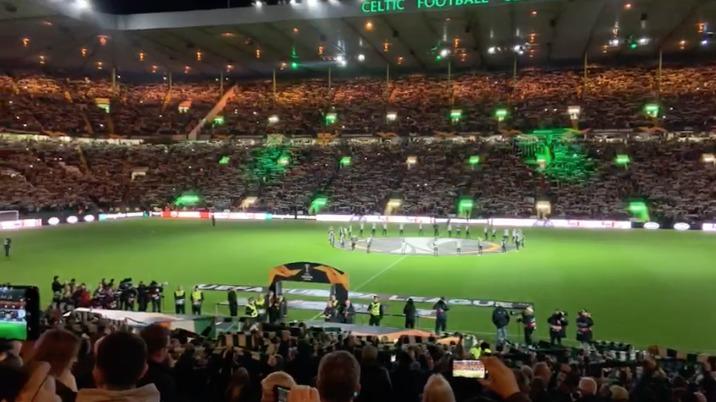 Celtic - Lazio, Celtic Park