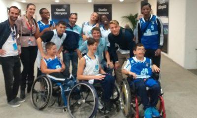 Lazio Basket in Carrozzina all'Olimpico