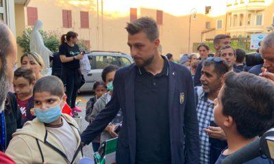 La Nazionale in visita al Bambin Gesù di Roma (FOTO)