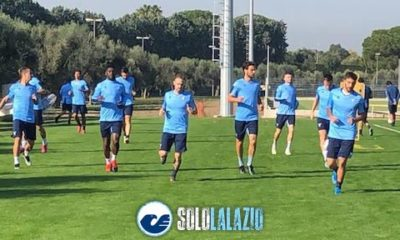 Lazio, rifinitura Formello Celtic-Lazio - 2