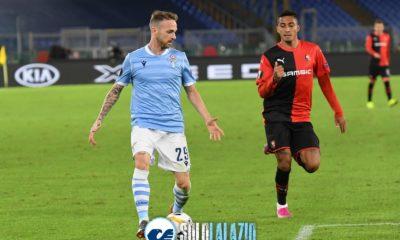 Lazio - Rennes, Manuel Lazzari