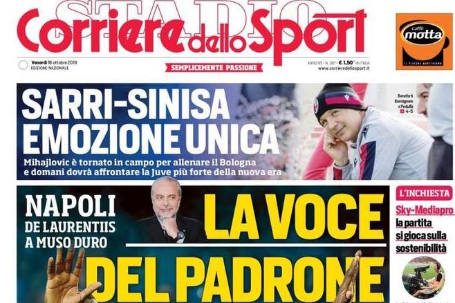 Rassegna stampa, le prime pagine dei quotidiani sportivi nazionali (FOTO)