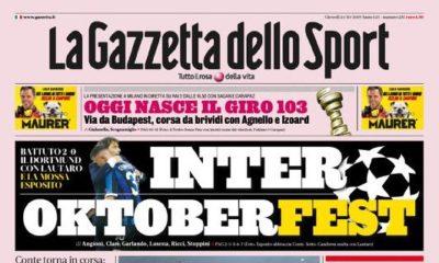 Prime pagine, le aperture dei quotidiani sportivi nazionali (FOTO)