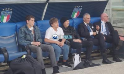 Sinisa Mihajlovic segue la rifinitura di Italia - Grecia