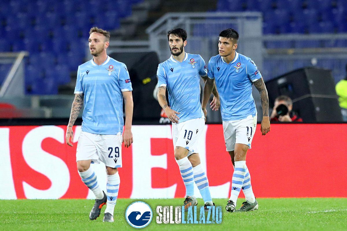 Lazio - Cluj, Manuel Lazzari, Luis Alberto e Joaquin Correa