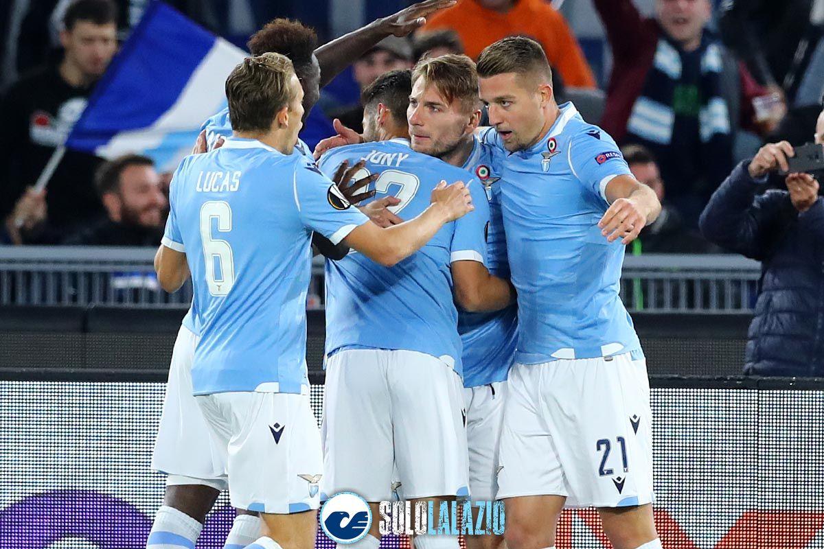 Lazio - Celtic, Ciro Immobile gol