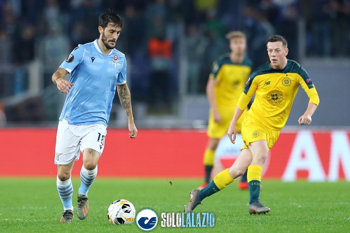 Lazio - Celtic, Luis Alberto