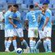 Lazio - Lecce, esultanza gol Correa