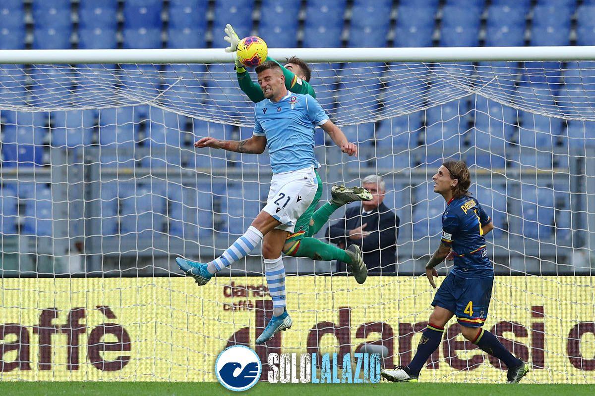 Lazio - Lecce, Sergej Milinkovic e Gabriel